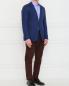 Пиджак из шерсти узкого кроя Corneliani ID  –  Модель Общий вид
