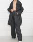 Куртка из шерсти свободного кроя с узором Maison Martin Margiela  –  МодельОбщийВид