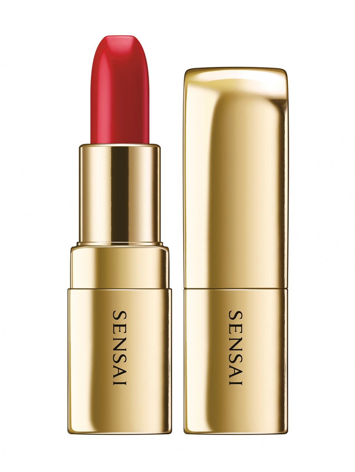 Помада The Lipstick оттенок - 02 SAZANKA RED Makeup Sensai  –  Общий вид