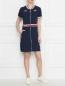 Платье из хлопкового трикотажа на молнии Bosco Sport  –  МодельОбщийВид