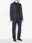 Куртка на молнии с узором и перфорацией Etro  –  МодельОбщийВид