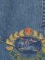 Джинсы из светлого денима прямого кроя Burberry  –  Деталь