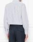 "Рубашка из хлопка с узором ""полоска"" Brooks Brothers  –  МодельВерхНиз1"