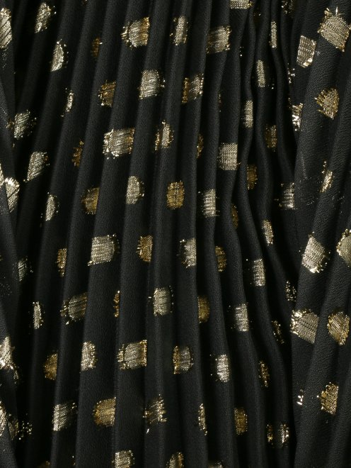 Платье-макси без рукавов с плиссированной юбкой - Деталь1
