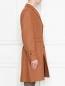 Пальто из шерсти с узором LARDINI  –  МодельВерхНиз2