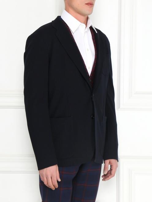 Пиджак однобортный - Модель Верх-Низ