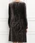 Платье свободного кроя с узором Alberta Ferretti  –  Модель Верх-Низ1