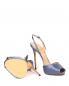 Босоножки из шелка на высоком каблуке La Perla  –  Обтравка5