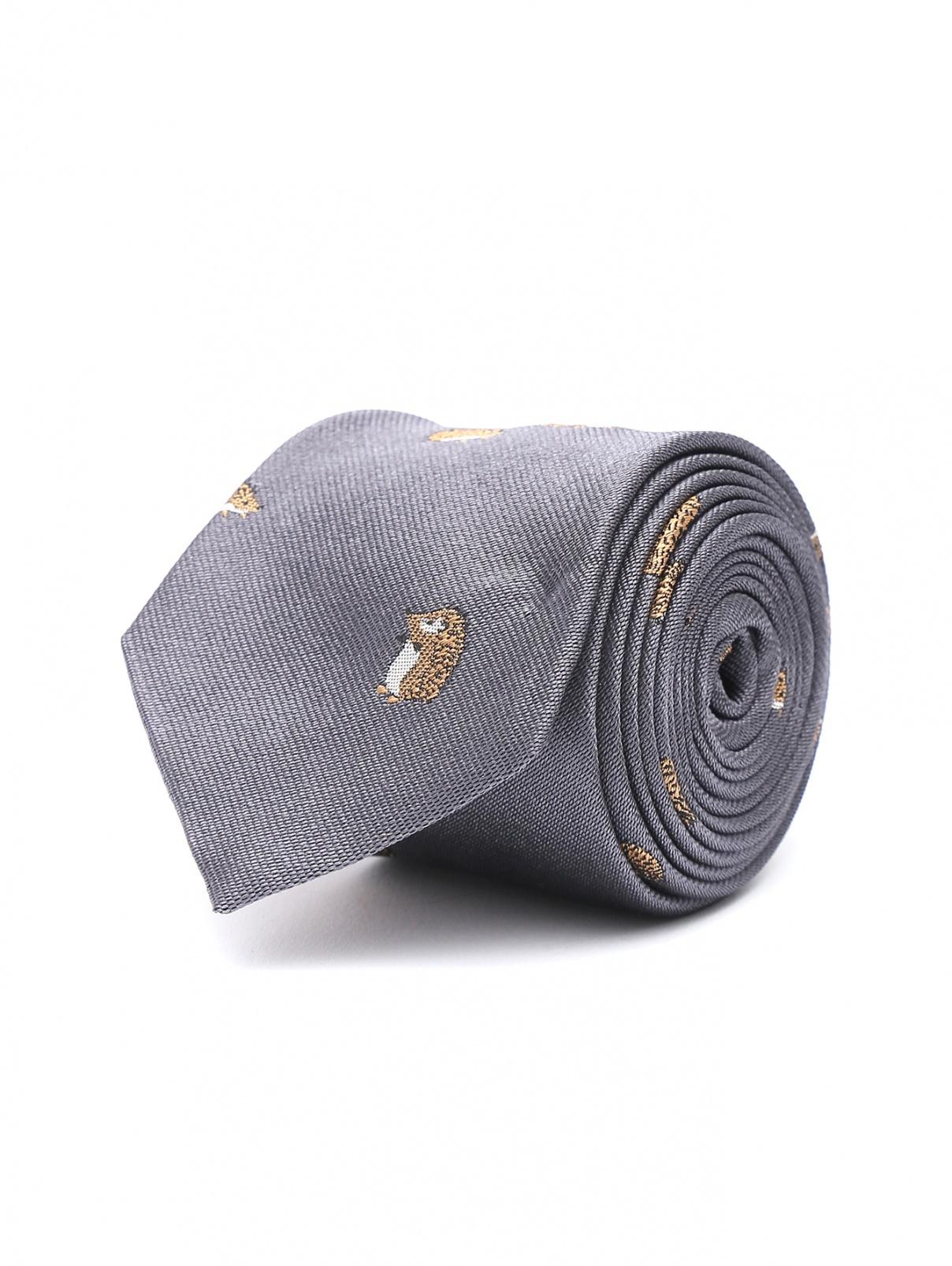 Галстук из шелка с узором Paul Smith  –  Общий вид