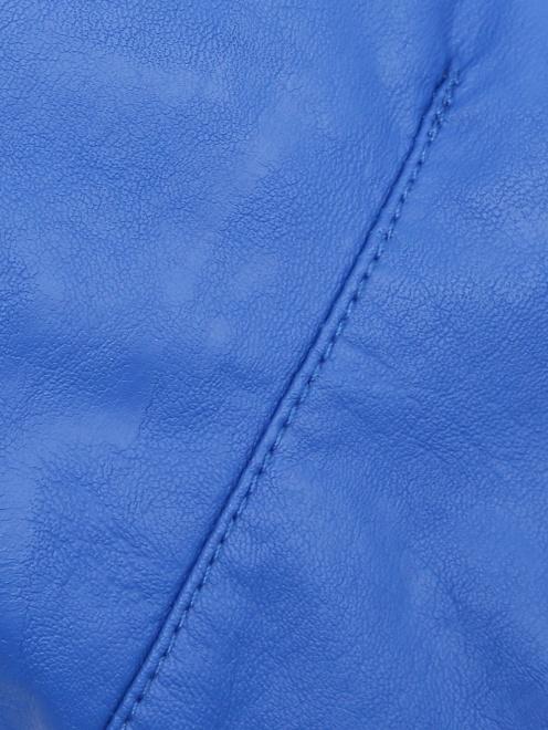 Куртка байкерская из экокожи Freedomday - Деталь