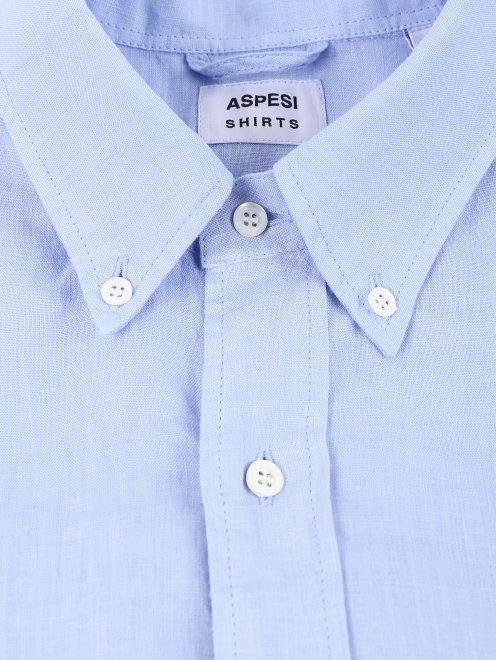 Рубашка из льна - Деталь