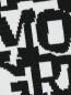 Легинсы с принтом Moncler  –  Деталь