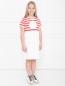 Платье спортивное с принтом Moncler  –  МодельВерхНиз