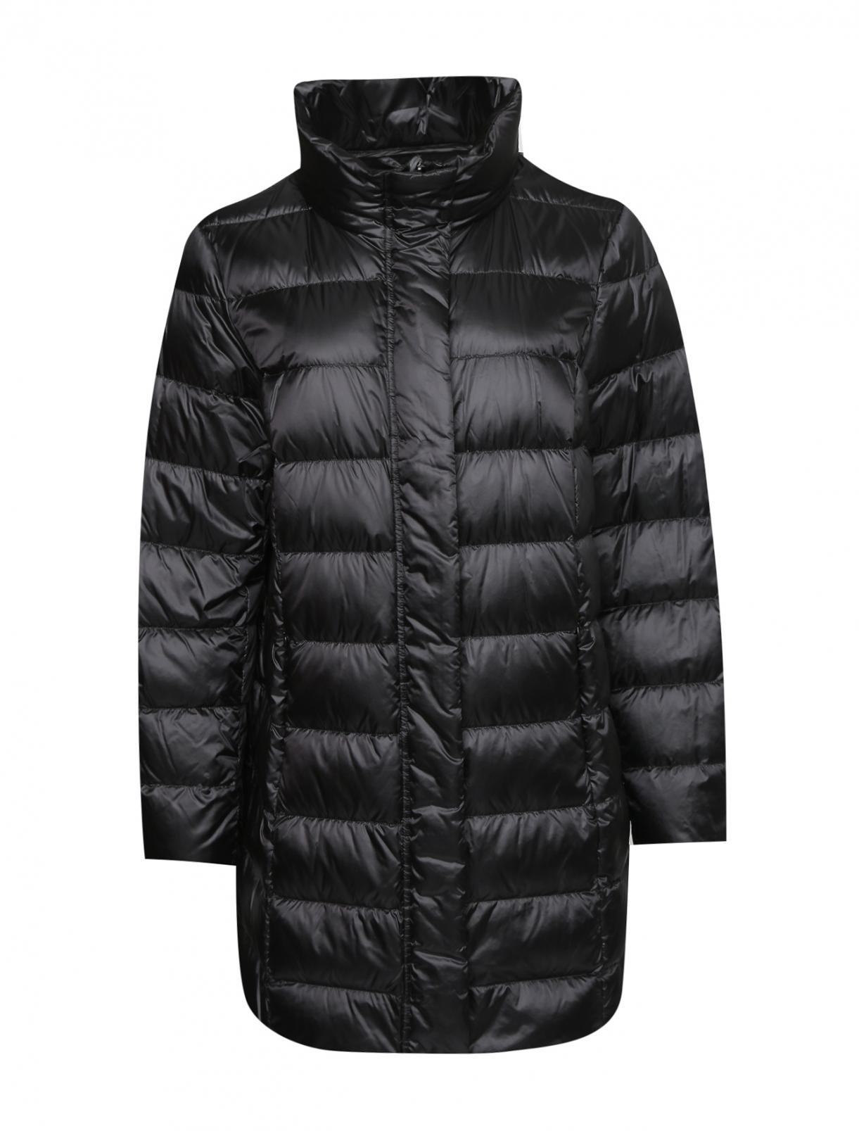 Стеганая куртка на молнии Persona by Marina Rinaldi  –  Общий вид