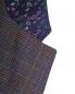 Шерстяной пиджак в клетку с накладными карманами Etro  –  Деталь1
