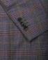 Шерстяной пиджак в клетку с накладными карманами Etro  –  Деталь