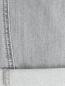 Укороченные джинсы декорированные кристаллами Ermanno Scervino  –  Деталь2