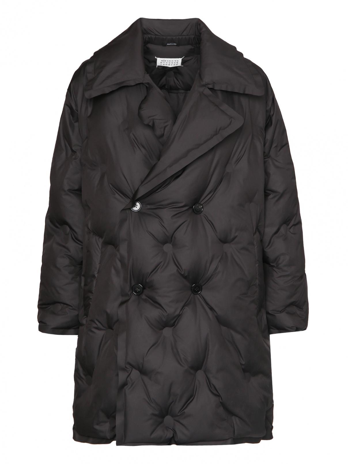 Стеганое пальто свободного кроя Maison Martin Margiela  –  Общий вид