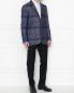 Пиджак из хлопка и шерсти Etro  –  МодельОбщийВид