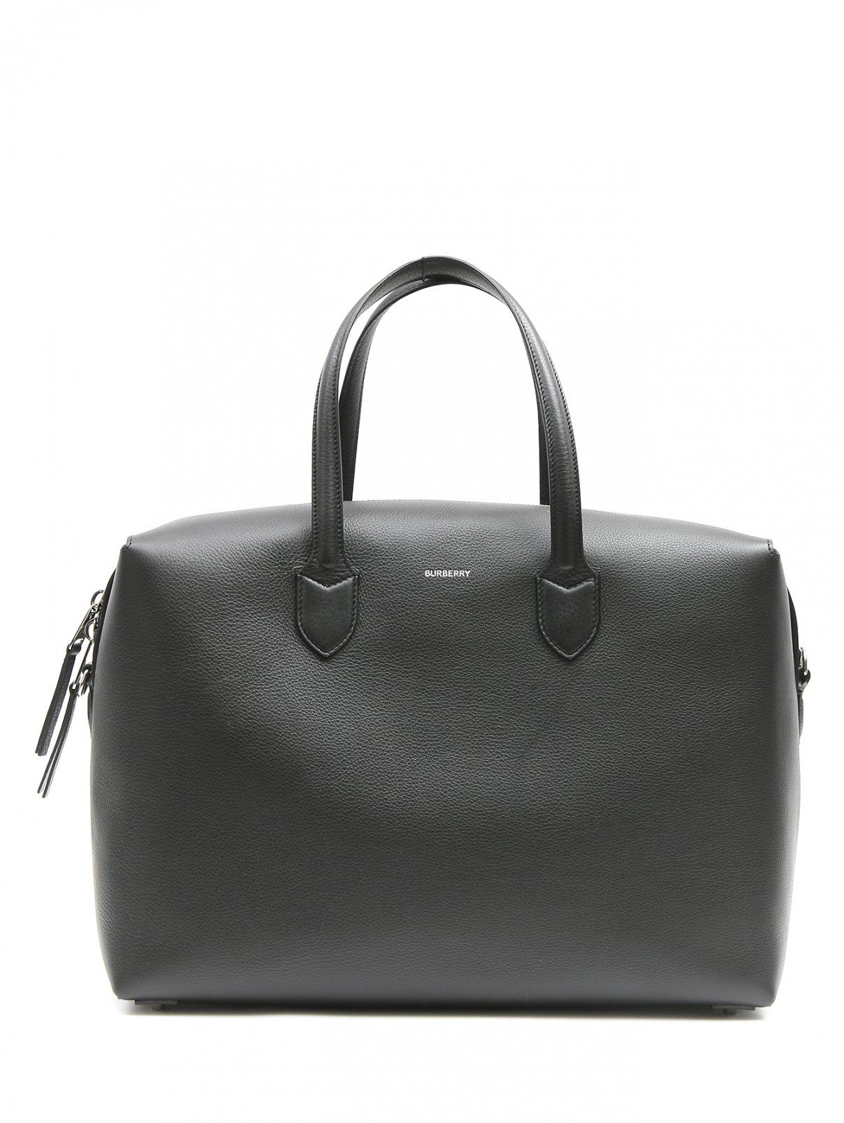 Дорожная сумка из кожи Burberry  –  Общий вид