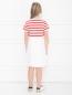 Платье спортивное с принтом Moncler  –  МодельВерхНиз1