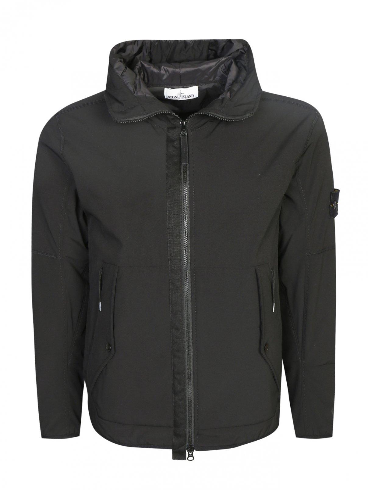 Куртка на молнии с капюшоном Stone Island  –  Общий вид