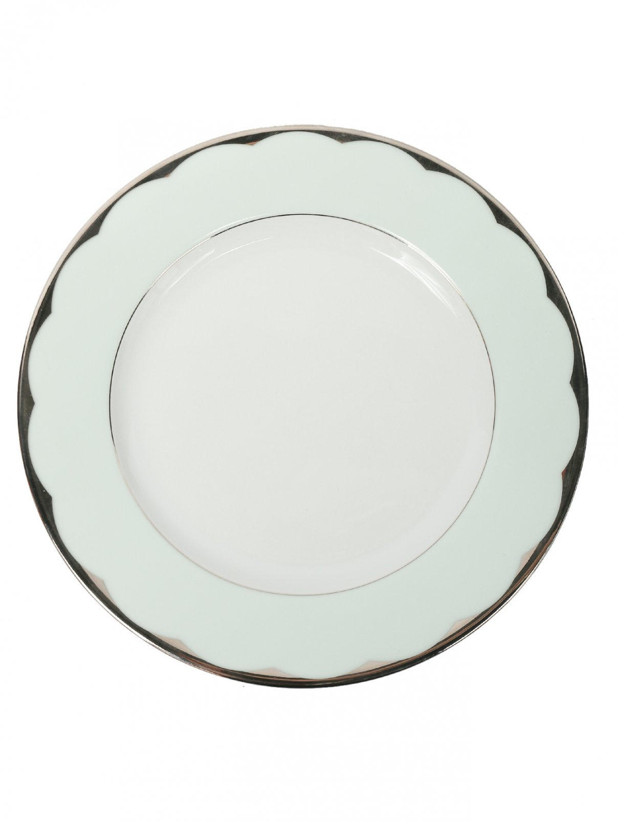 Тарелка салатная из фарфора с окантовкой Haviland  –  Общий вид