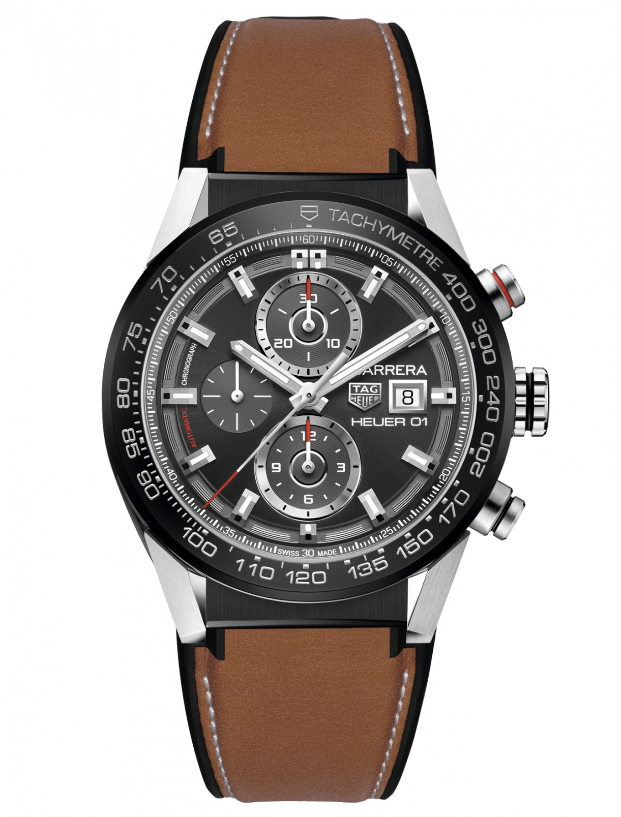 Часы CAR201W.FT6122 Carrera TAG Heuer  –  Общий вид