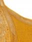 Платье-мини из льна с отделкой из кружева Alberta Ferretti  –  Деталь