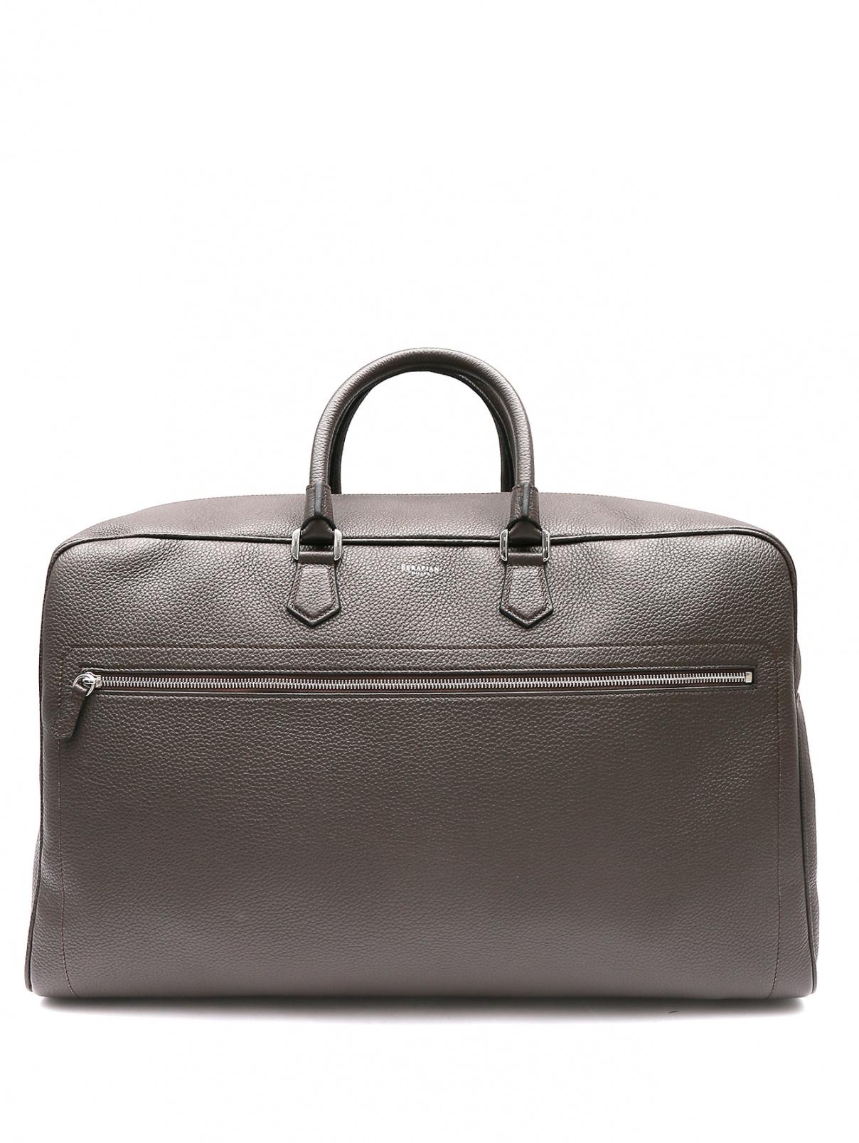 Дорожная сумка из кожи Serapian Milano  –  Общий вид