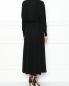 Платье-макси с декоративными драпировками Burberry  –  МодельВерхНиз1