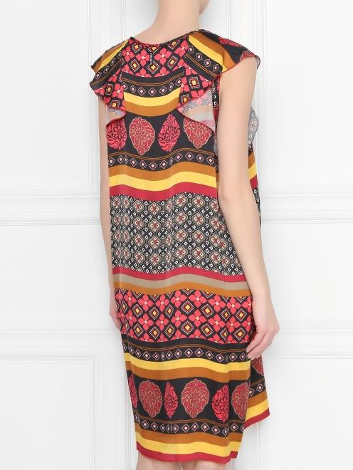 Платье из вискозы с узором DEHA - МодельВерхНиз1