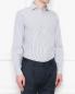 "Рубашка из хлопка с узором ""полоска"" Brooks Brothers  –  МодельВерхНиз"