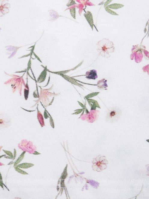 Пижама с цветочным узором La Perla - Деталь1