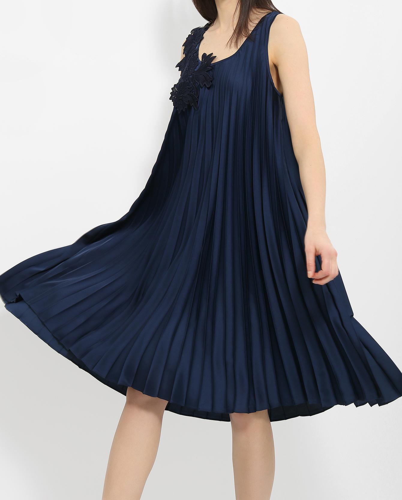 Платье Плиссе Для Полных