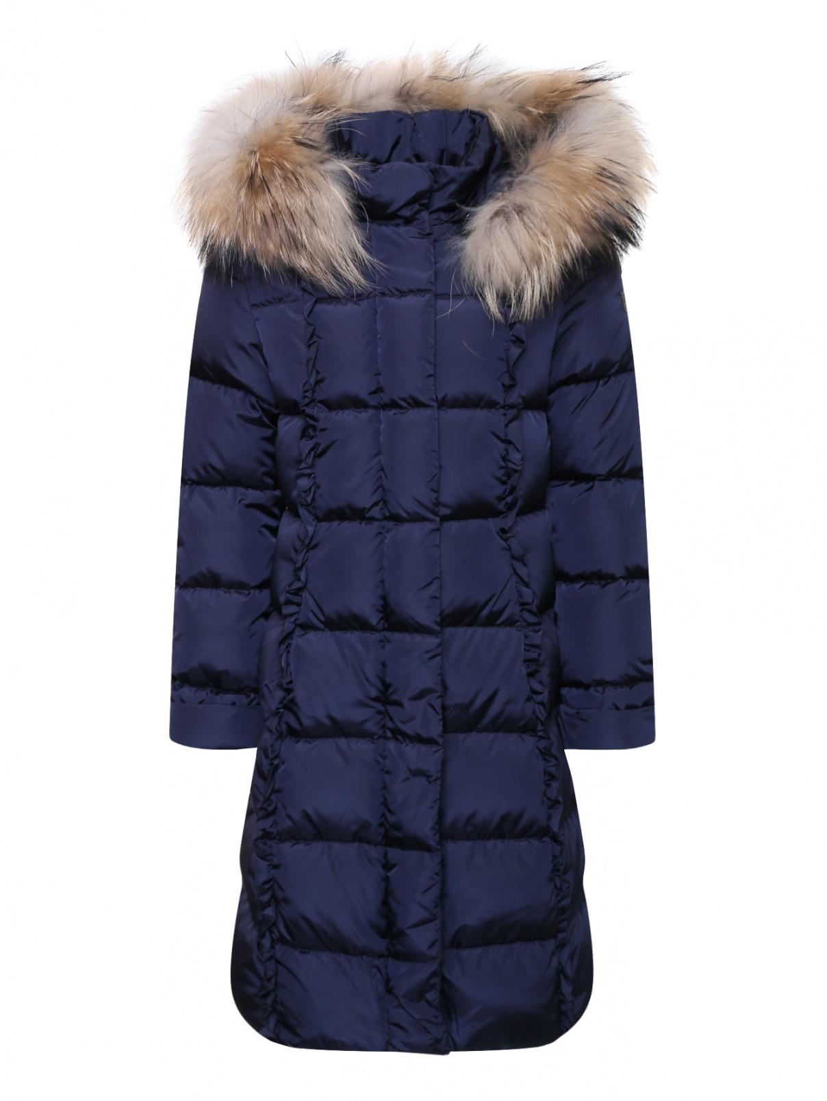 Пальто стеганое с капюшоном Il Gufo  –  Общий вид