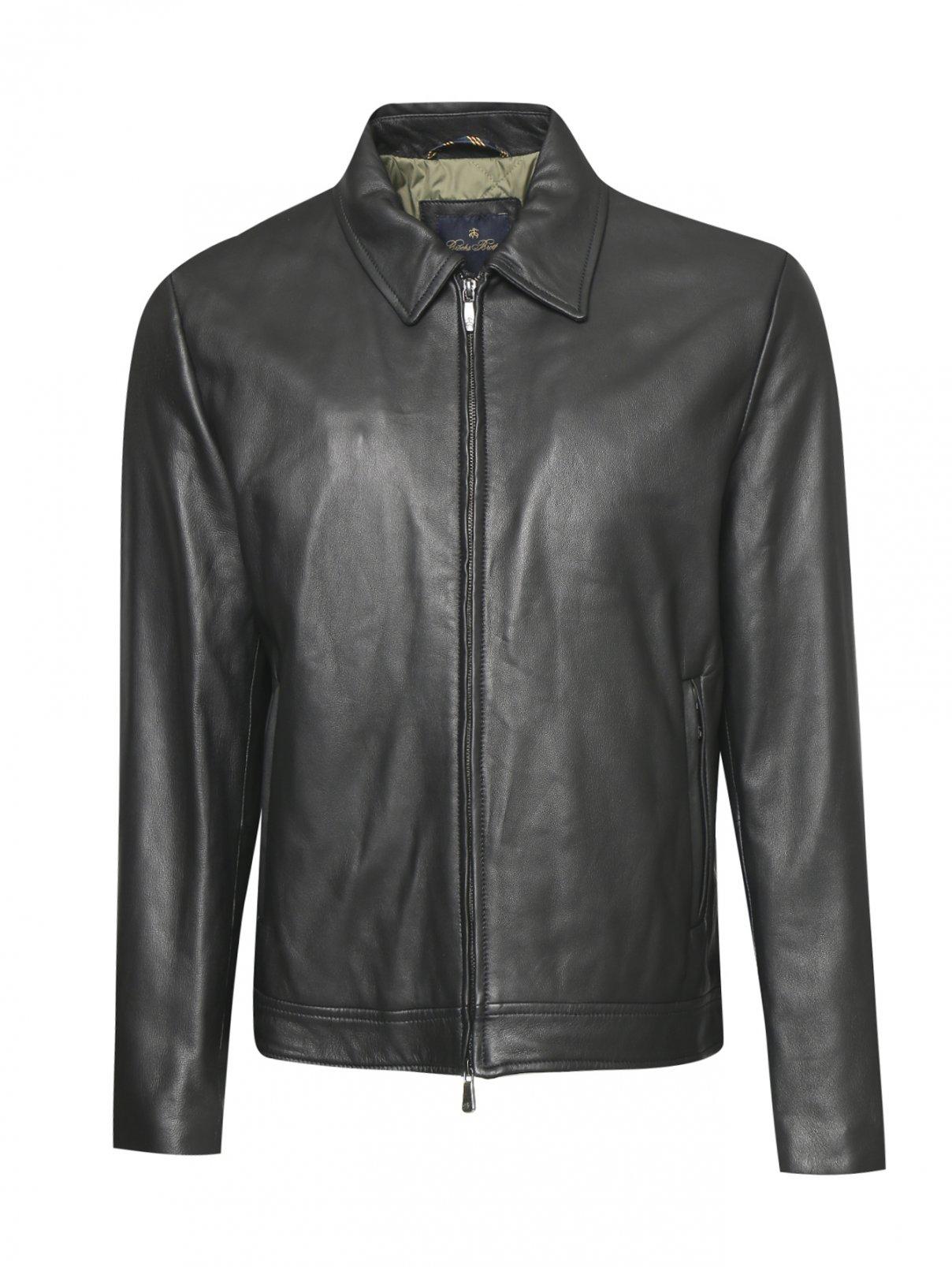 Куртка из кожи Brooks Brothers  –  Общий вид