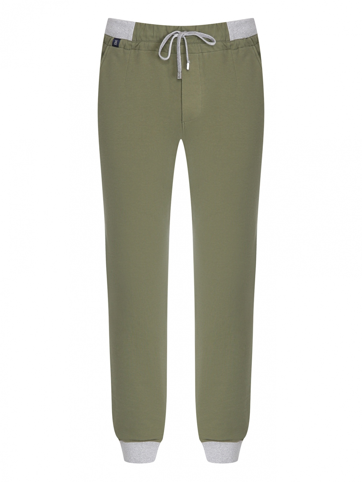 Трикотажные брюки из смешанного хлопка Capobianco  –  Общий вид