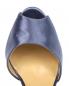 Босоножки из шелка на высоком каблуке La Perla  –  Обтравка3