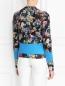 Кардиган из шерсти с цветочным узором Paul Smith  –  Модель Верх-Низ1
