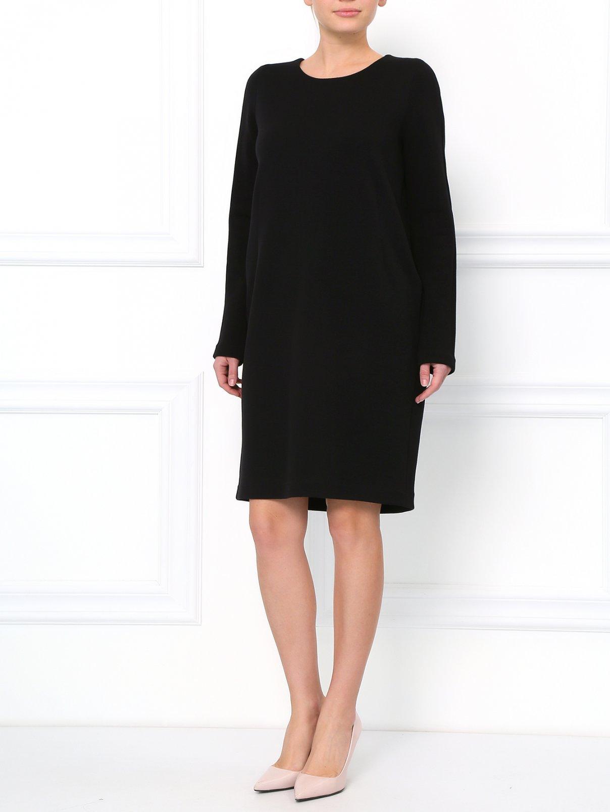 Свободное платье из шерсти Jil Sander  –  Модель Общий вид