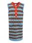 Платье из шерсти с узором Gucci  –  Общий вид