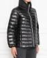 Стеганая куртка на молнии Marina Rinaldi  –  МодельВерхНиз