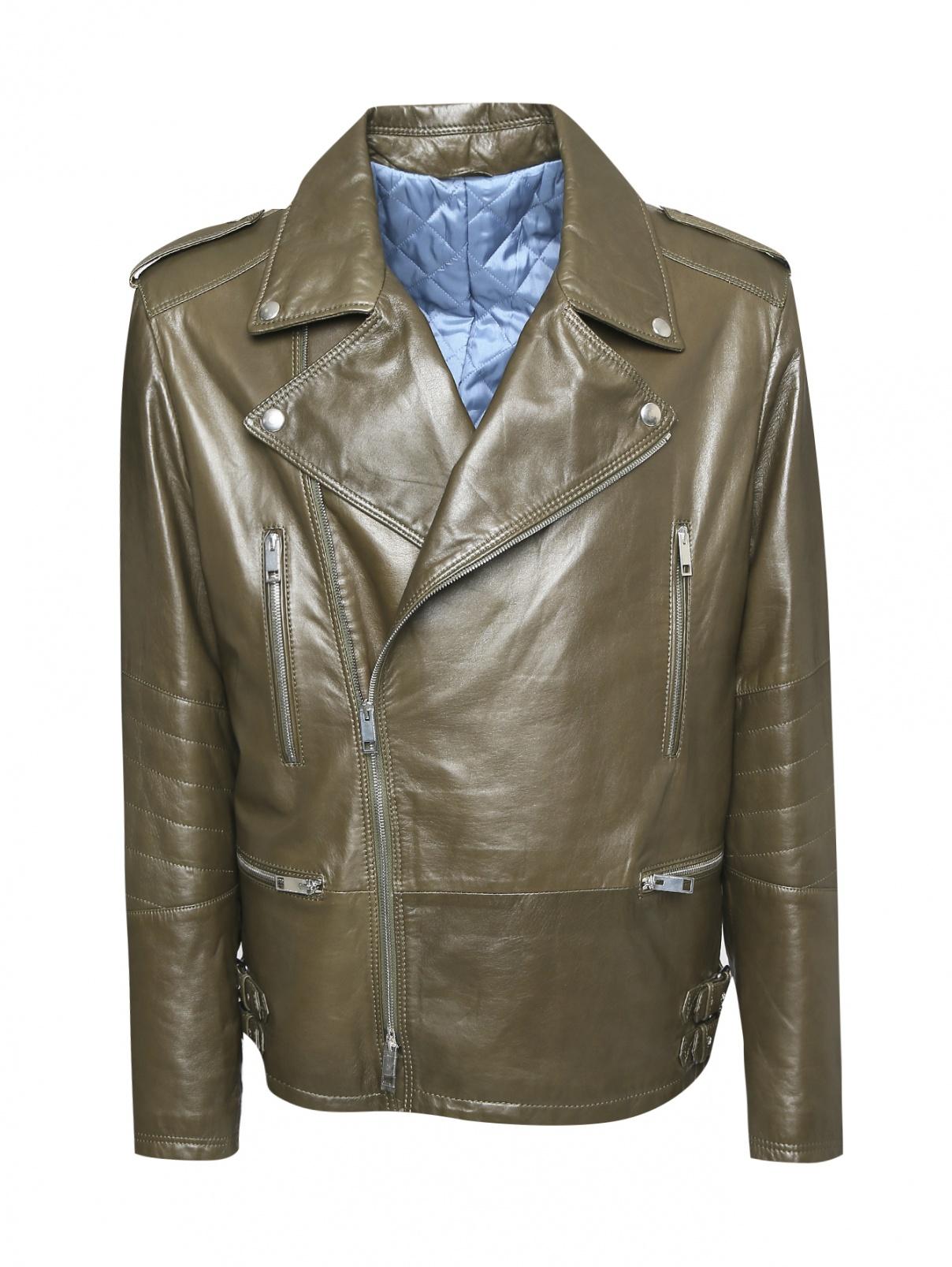 Утепленная куртка-косуха Ermanno Scervino  –  Общий вид