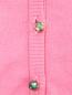 Кардиган трикотажный с декоративными пуговицами Mi Mi Sol  –  Деталь