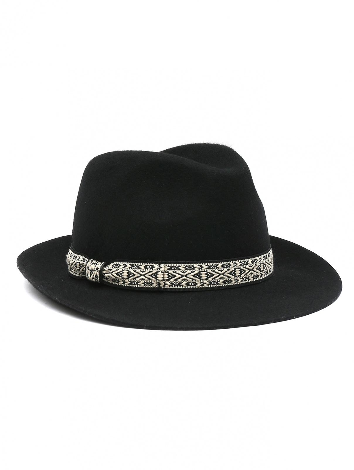 Шляпа из шерсти с лентой Marina Rinaldi  –  Общий вид