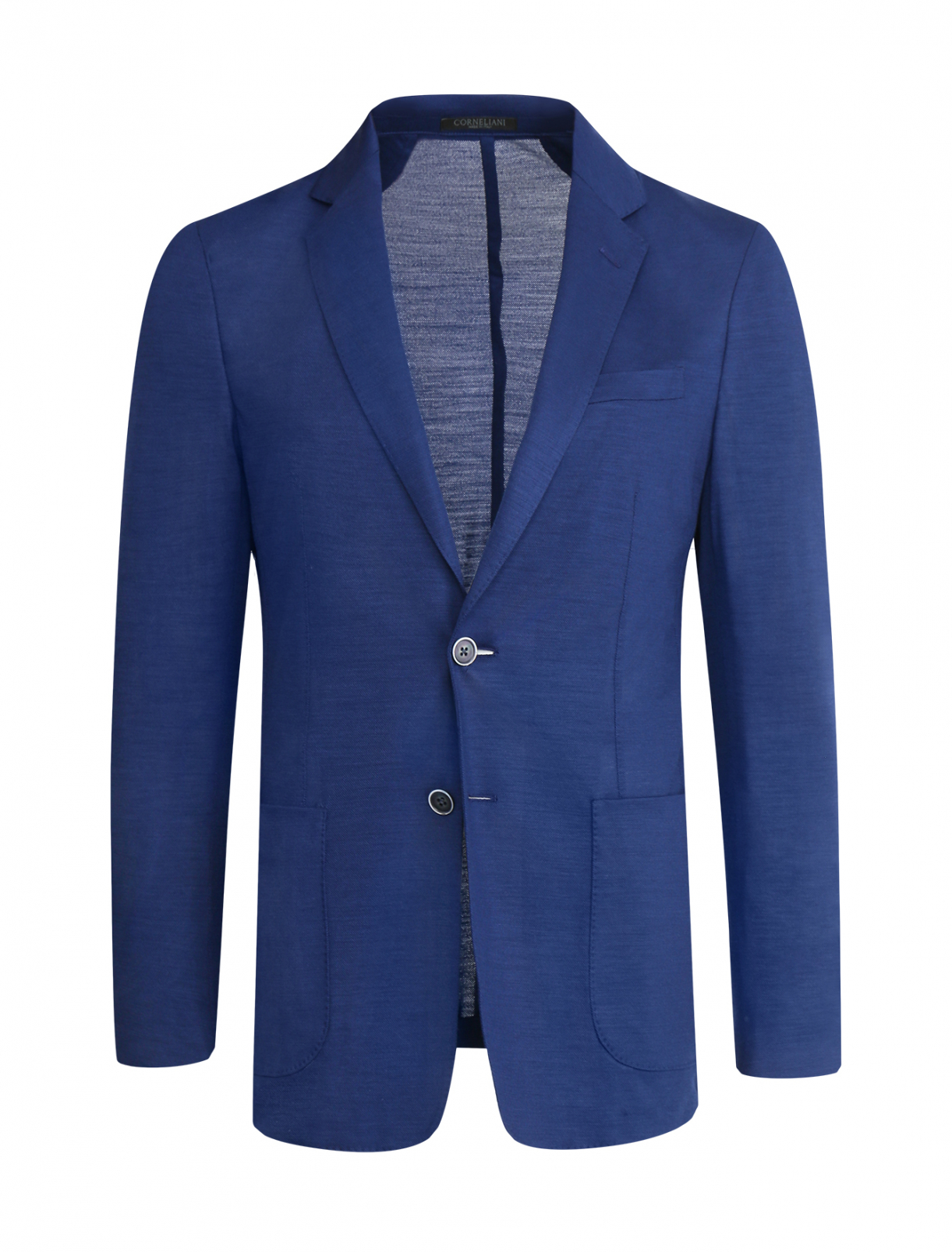 Пиджак из шерсти узкого кроя Corneliani ID  –  Общий вид