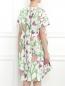 Платье из хлопка с цветочным узором Isola Marras  –  Модель Верх-Низ1