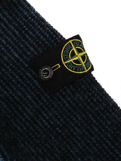 Джемпер из шерсти с капюшоном  - Деталь1