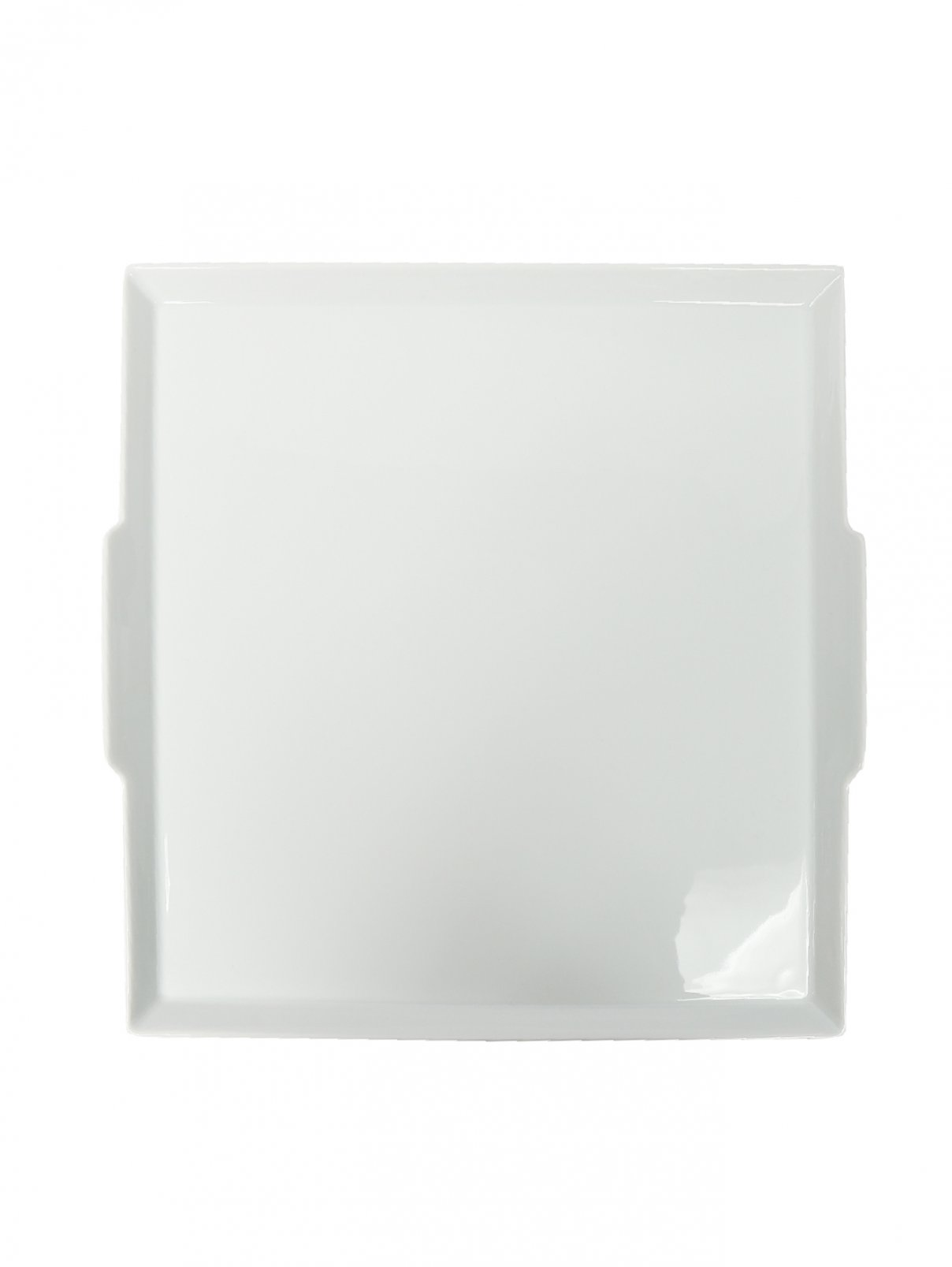 Поднос из фарфора квадратный  с ручками Haviland  –  Общий вид